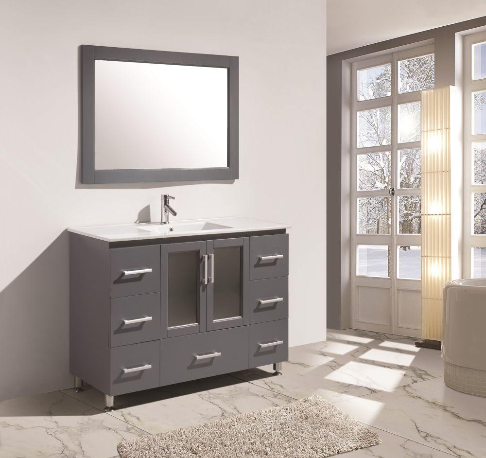 Stanton 48 Single Sink Vanity Mirror B48 Ds G