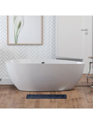 Jenkins, Oval, Solid Surface Tub