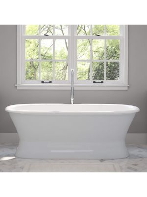 Cast Iron Pedestal Tub & Free Standing Plumbing Packages - Worth