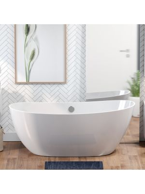Asher, Double Slipper, Solid Surface Tub 01