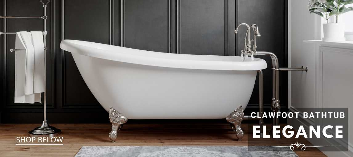 Clawfoot Bathtubs  - Free Delivery